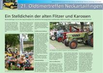 Nürtinger Zeitung vom 16.07.2015
